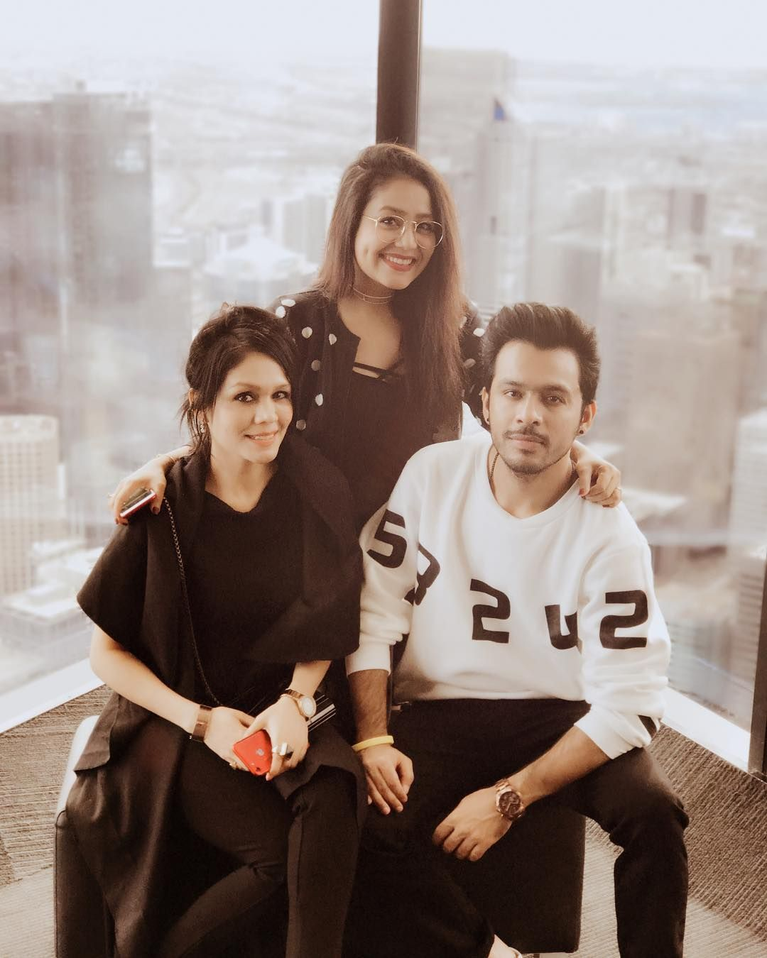 We Kakkars Tonykakkar Nehakakkar And Me Are All Set For The Australia And Newzealand Tour Can T Wait To To See You Sonu Kakkar Neha Kakkar Dresses Singer