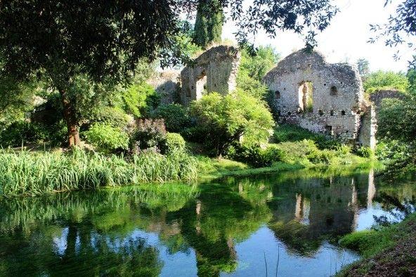 Roma verde touring il giardino di ninfa e l hortus conclusus