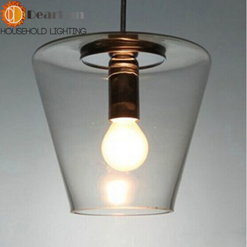 household lighting fixtures. Good Price,Household Personal SK Transparent The Items Glass Pendant Lamps,Glass American Conoid Household Lighting Fixtures T