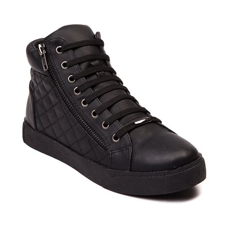 Womens Wanted Perry High Top Casual Shoe Black