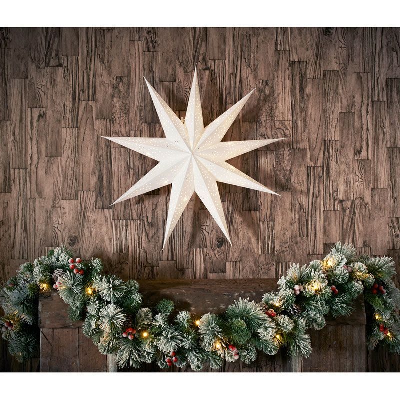Brighten Up Your Home At Christmas Time With This Stunning Star. Home Design Ideas