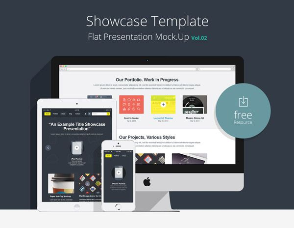 17 Best images about UI: Mock-Ups on Pinterest | Flats, Macbook ...