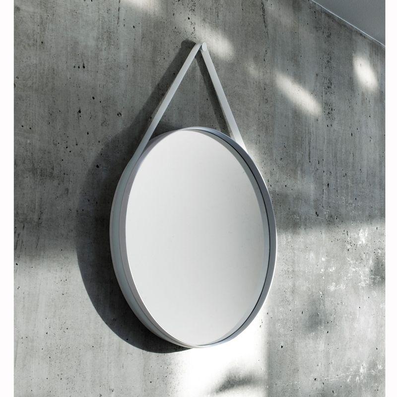 Miroir STRAP MIRROR | HAY - SILVERA | Décorer miroir, Miroir ...