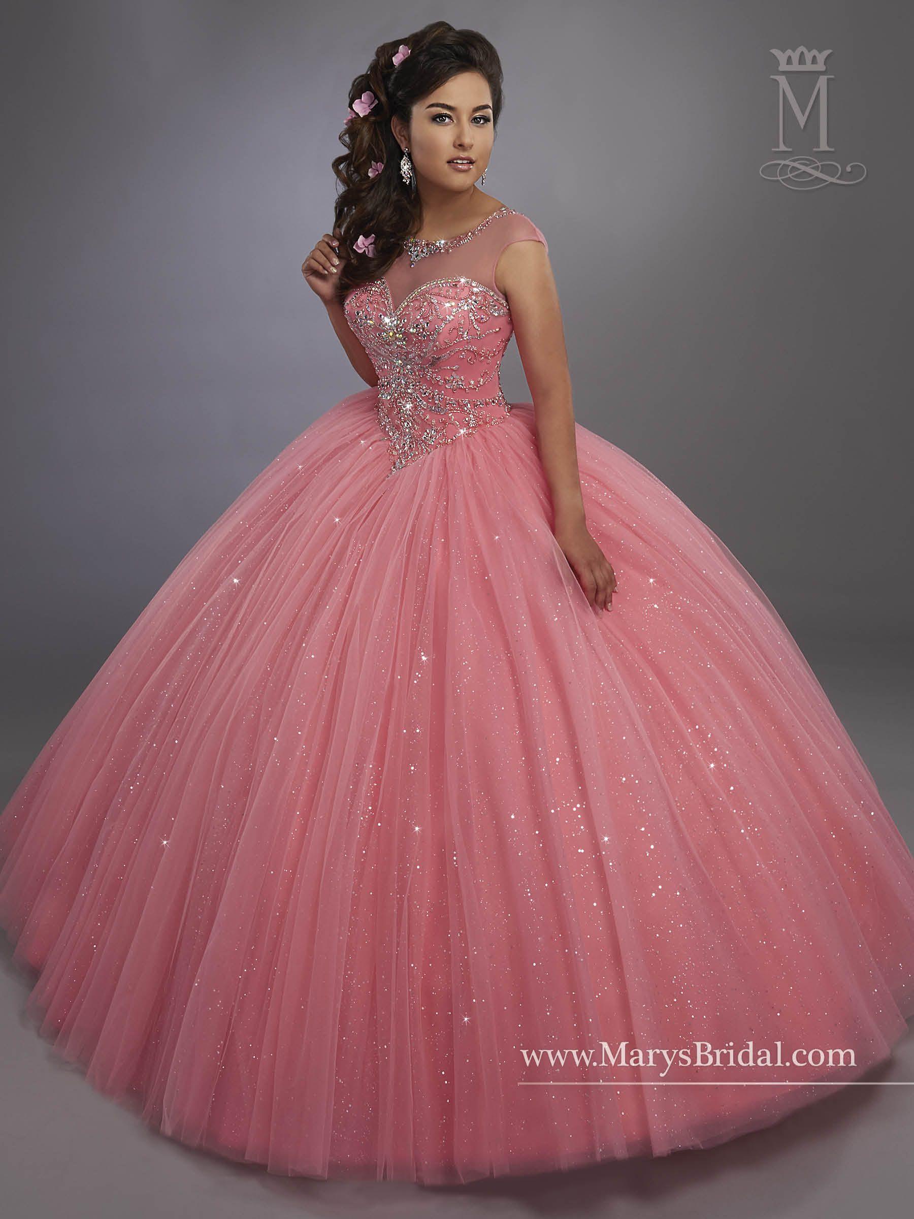 Style 4768 | hermosos tendidos | Pinterest | 15 años, vestidos XV y ...