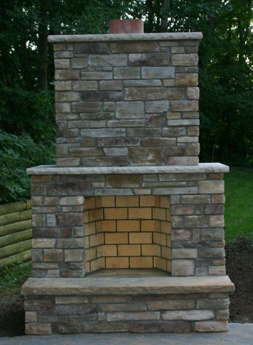 Outdoor Fireplaces Twin City Fireplace Stone Co Outdoor