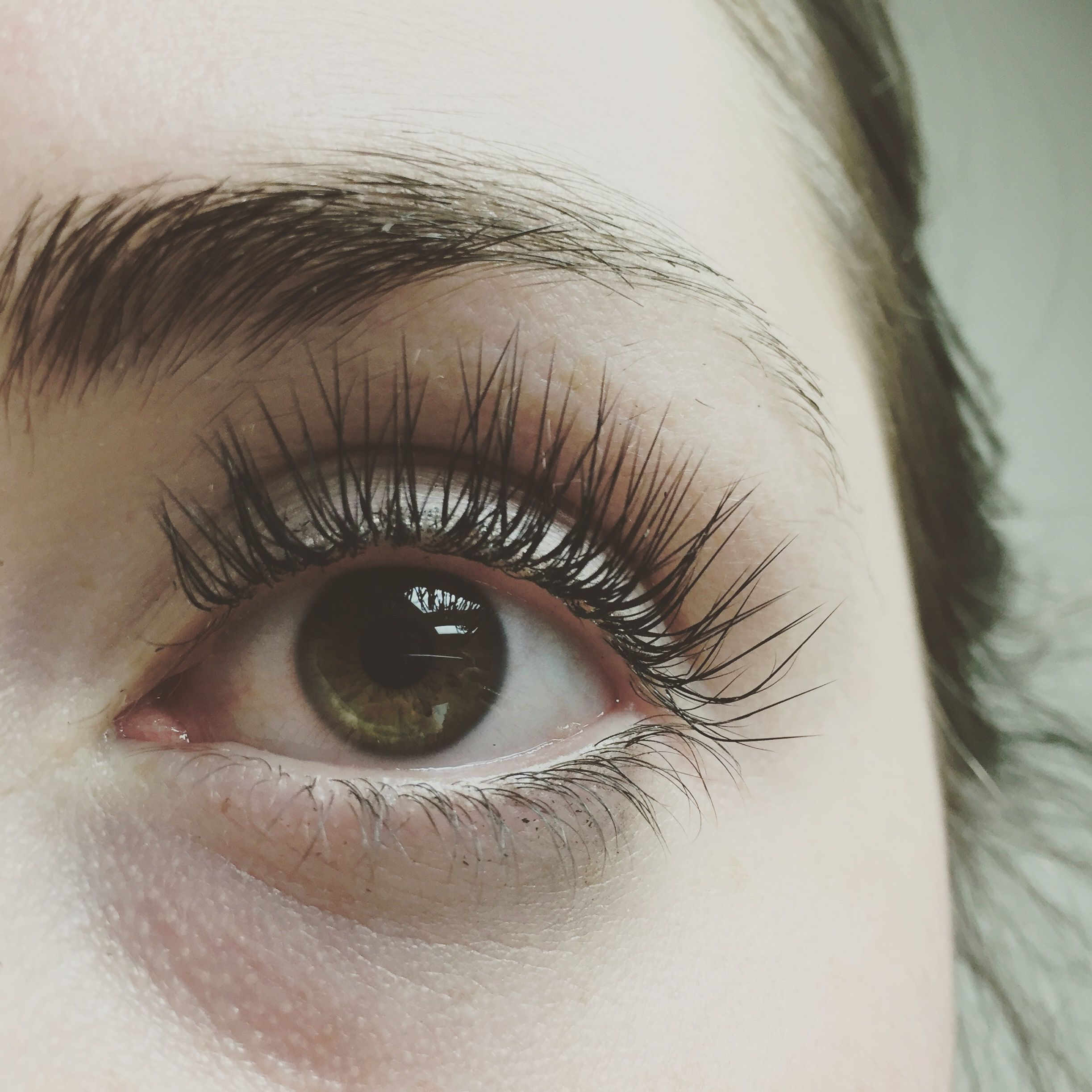 f3a62432b52 Mink eyelash extensions L Curl. | Makeup | Eyelash extensions ...