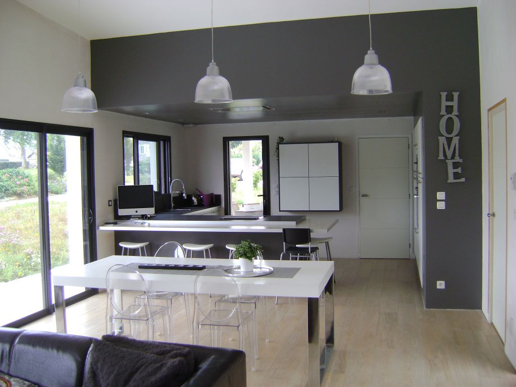 Photo n 327134 d coration cuisine cotes d 39 armor 22 for Projet maison contemporaine