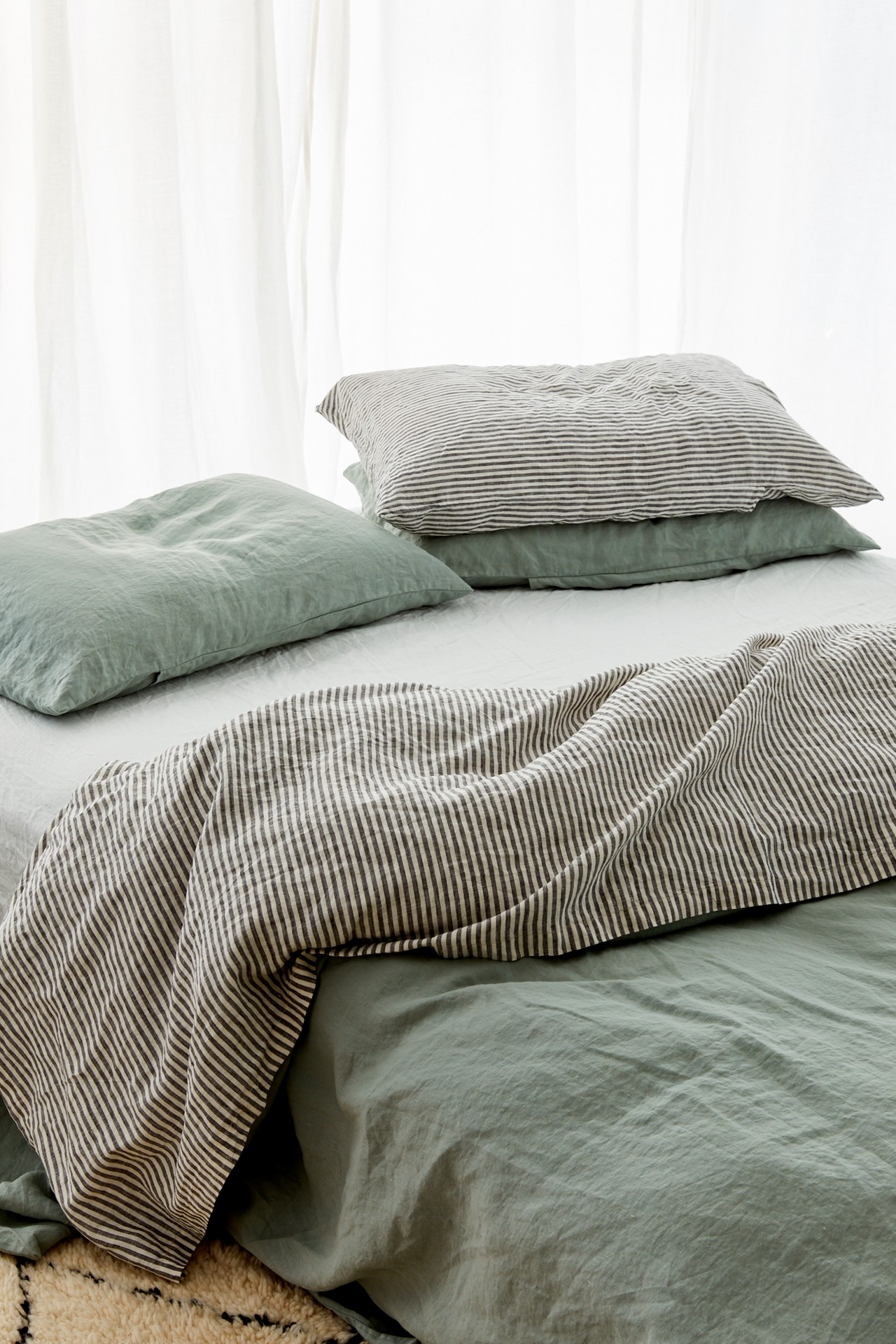 Launching 08 08 19 Soft And Calming Sage Is The Perfect Subtle Hue Of Green For Any Room Incredibly Dive Bedroom Interior Bedroom Inspirations Bedroom Green