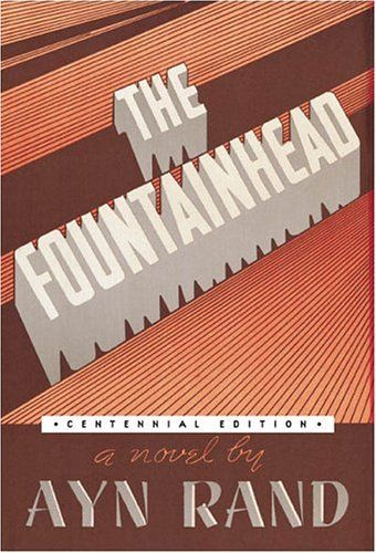 The Book Cover Archive Fountainhead Design By To Read In Your 20 Ayn Rand Essay