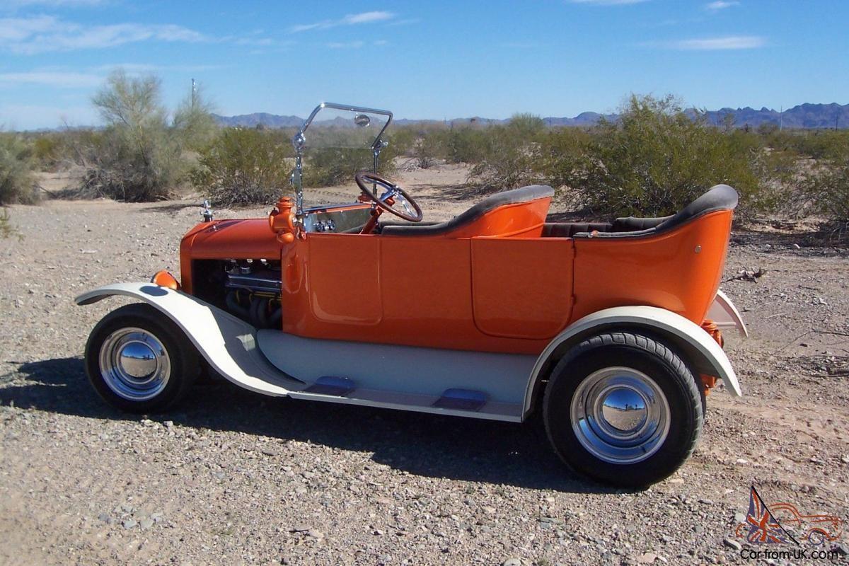 Up for sale. A 1924 Model T touring hot rod. All original Henrey ...