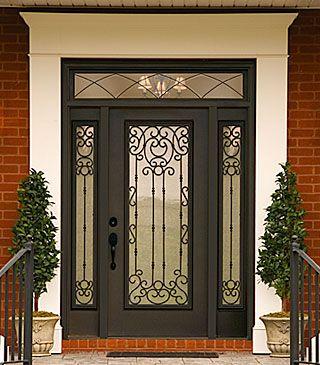 Western Reflections Door Glass Design Universal Transoms