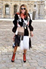 Anna dello Russo Fur Coat