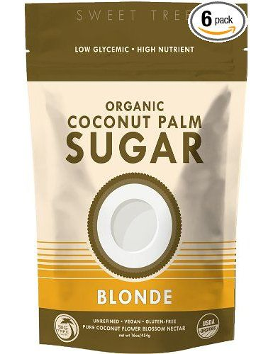 Big Tree Farms SweetTree Organic Coconut Palm Sugar, Blonde, 16-Ounce Pouches (Pack of 6): Amazon.com: Grocery & Gourmet Food