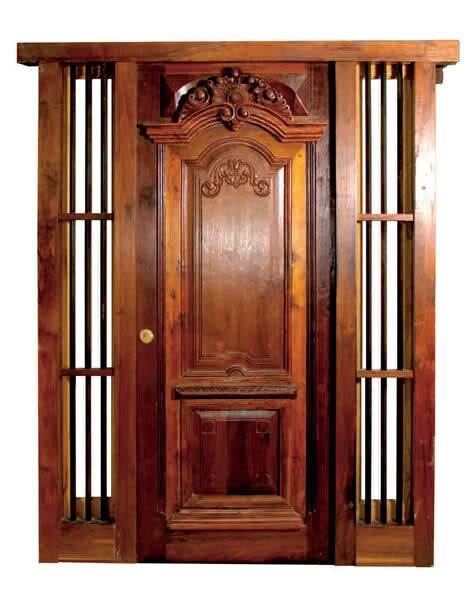 Diseño de Puertas para Entradas Principales - Decoraciòn de - puertas de madera para bao