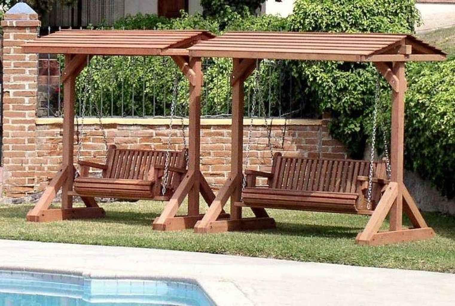 01 Pretty Awesome Garden Swing Seats Ideas For Backyard Relaxing Decoradeas Outdoor Patio Swing Patio Swing Outdoor Swing With Canopy