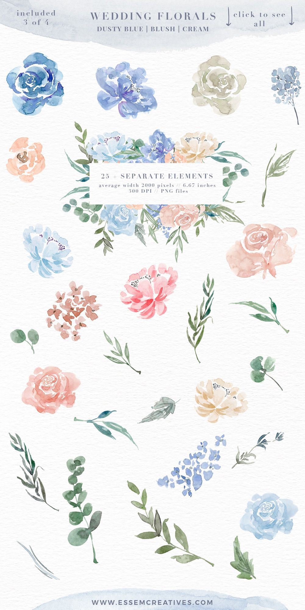 Watercolor Flowers Png Clipart Blue Watercolor Flowers Background Boy Baby Shower Invitations Floral Frames Pajaro De Acuarela Acuarela Floral