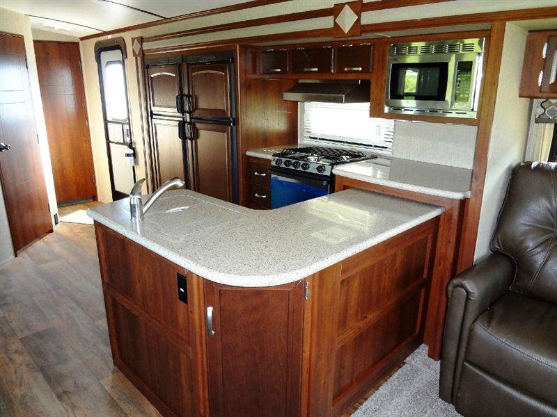 New 2016 Keystone RV Outback 326RL Travel Trailer at Pontiac