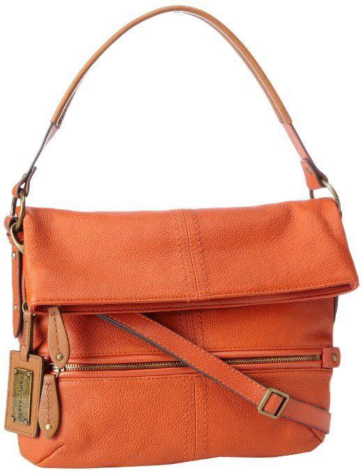 Price 139 00 Franco Sarto Christi Crossbody Color Pumpkin Orange 80 Leather 20 Polyvinyl Chloride