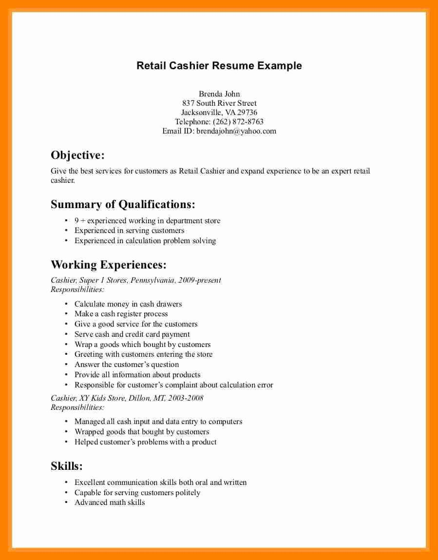 Opening Resume Statement Unique 6 Pharmacy Clerk Resume In 2020
