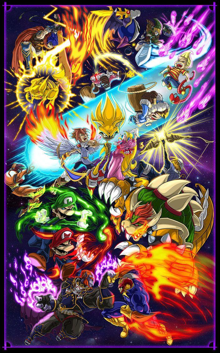 Final Destination by Pnutink on DeviantArt   Super Smash Bros