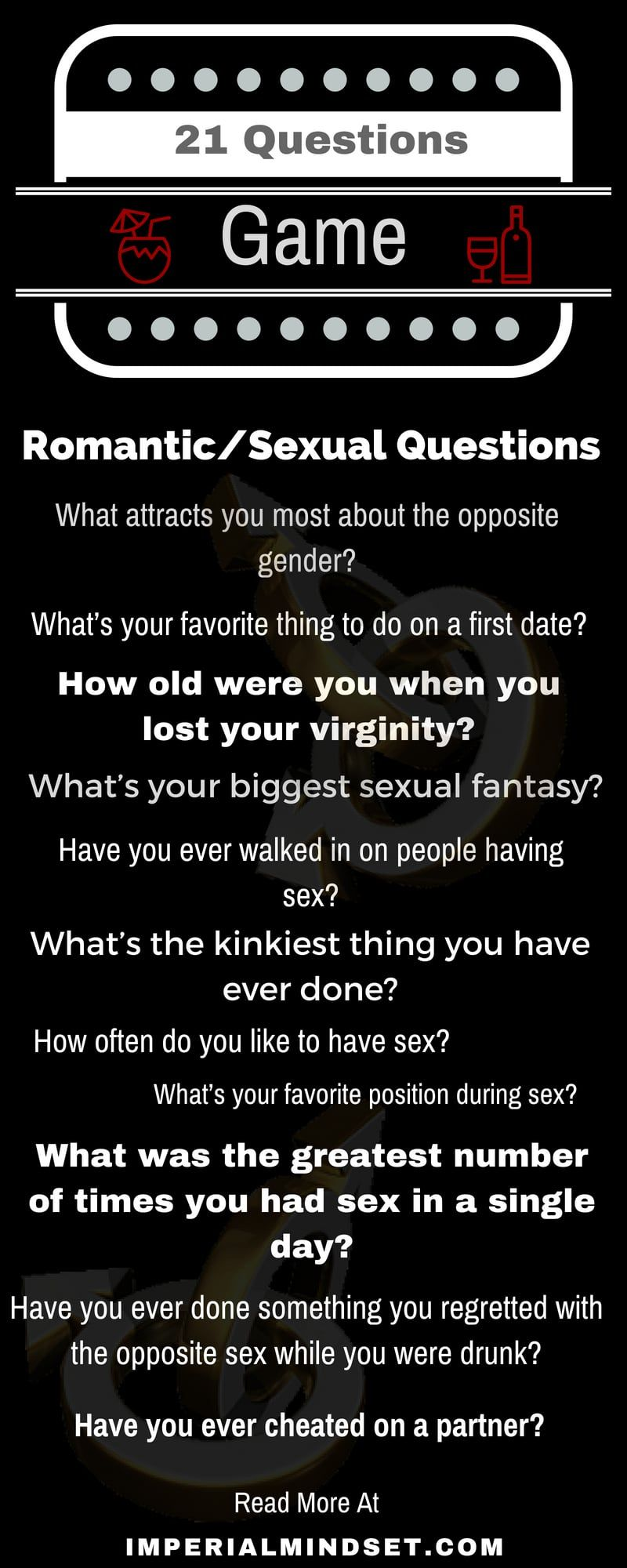 Sexual 21 questions game