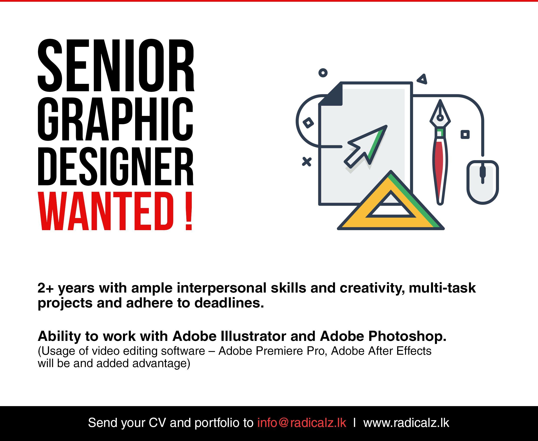 Image Result For Graphic Designer Job Adverts Graphic Designer Job Recruitment Advertising Interpersonal Skills