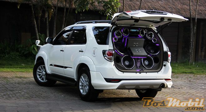 Modifikasi Toyota Fortuner SQL : Progressive Audio #infomodifikasi ...