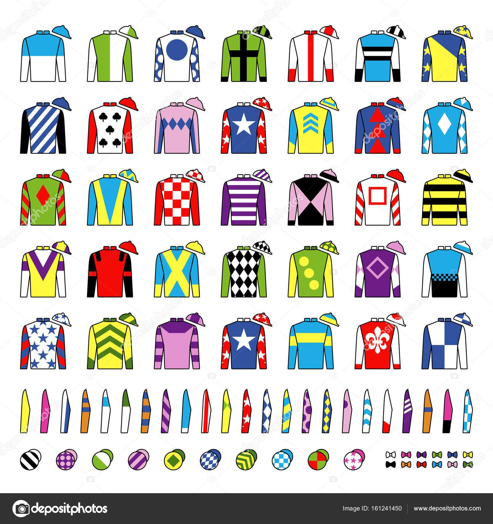 Download Jockey Uniform Traditional Design Jackets Silks