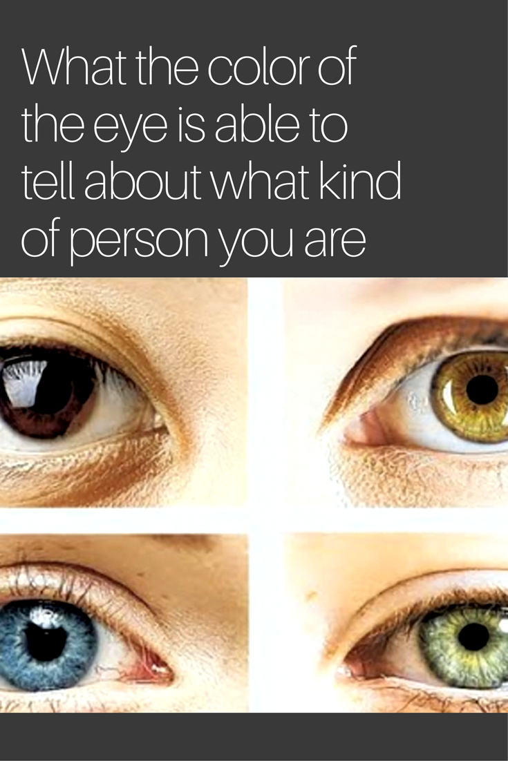 How to determine eye color 100