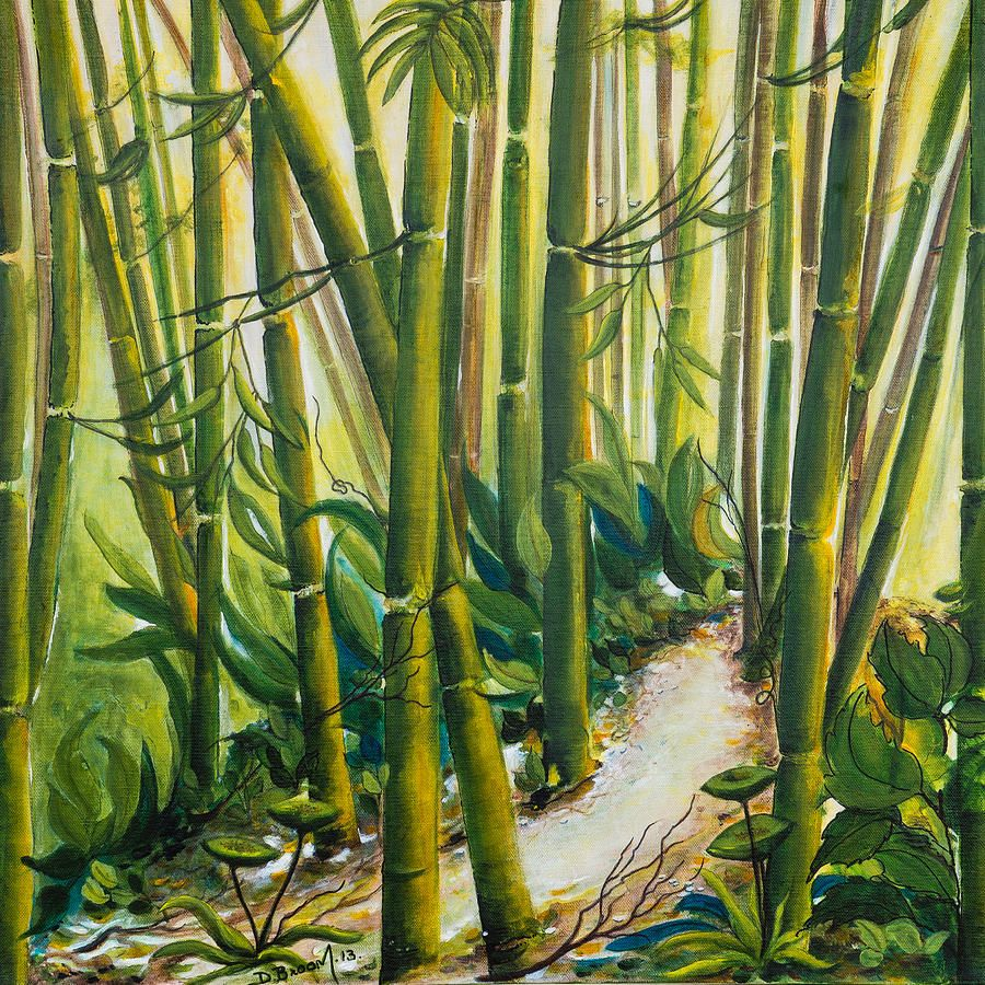 Peace by Dawn Broom in 2020 Forest painting, Peace