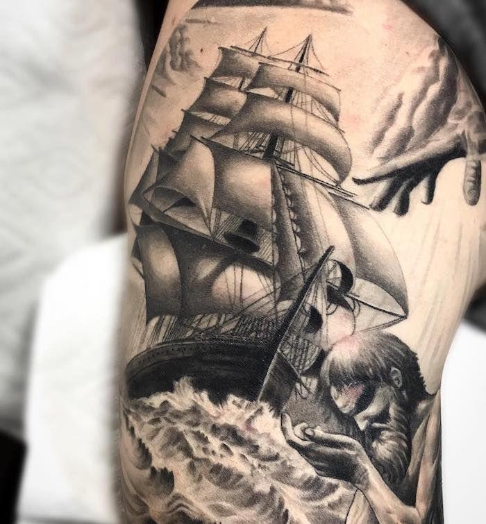1001 Modeles De Tatouage Homme Uniques Et Inspirants Tatouage Tatouage Homme Tatouage Bateau