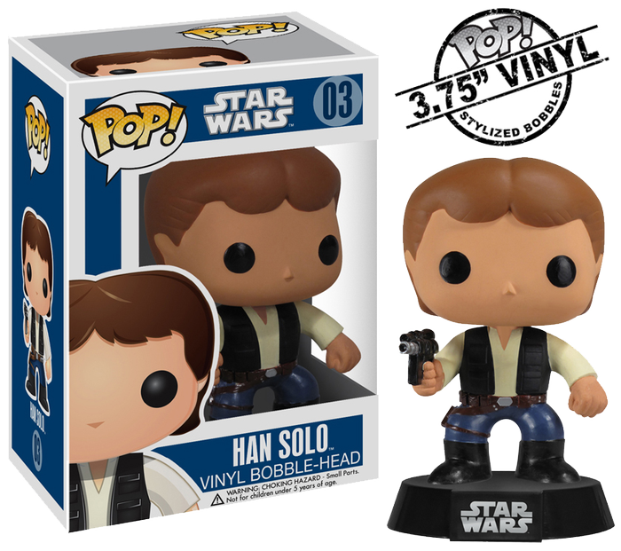 Han in Carbonite Funko POP Vinyl Bobble Head Figu... POP Star Wars Star Wars