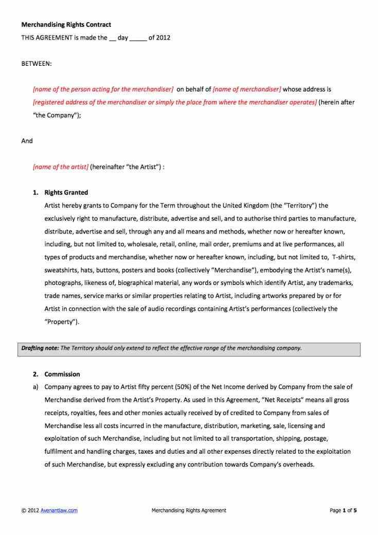 Between Cobrand Co Marketing Agreement Template Agreement And