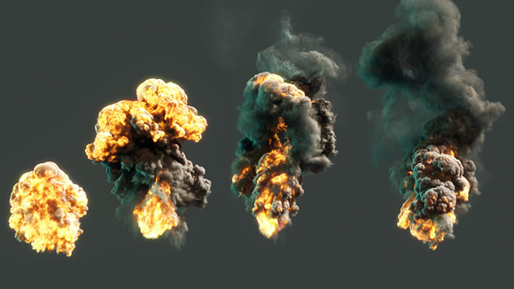 Houdini  Pyro Explosion Shader Tutorial  Color theory