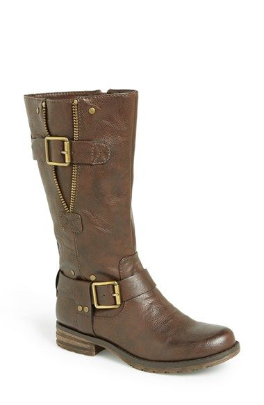 e41879f959d3 Naturalizer  Ballona  Boot (Wide Calf) (Women) at Nordstrom.com.  Street-savvy moto boots combine a wealth of metal details with N5 Comfort  Technology— ...