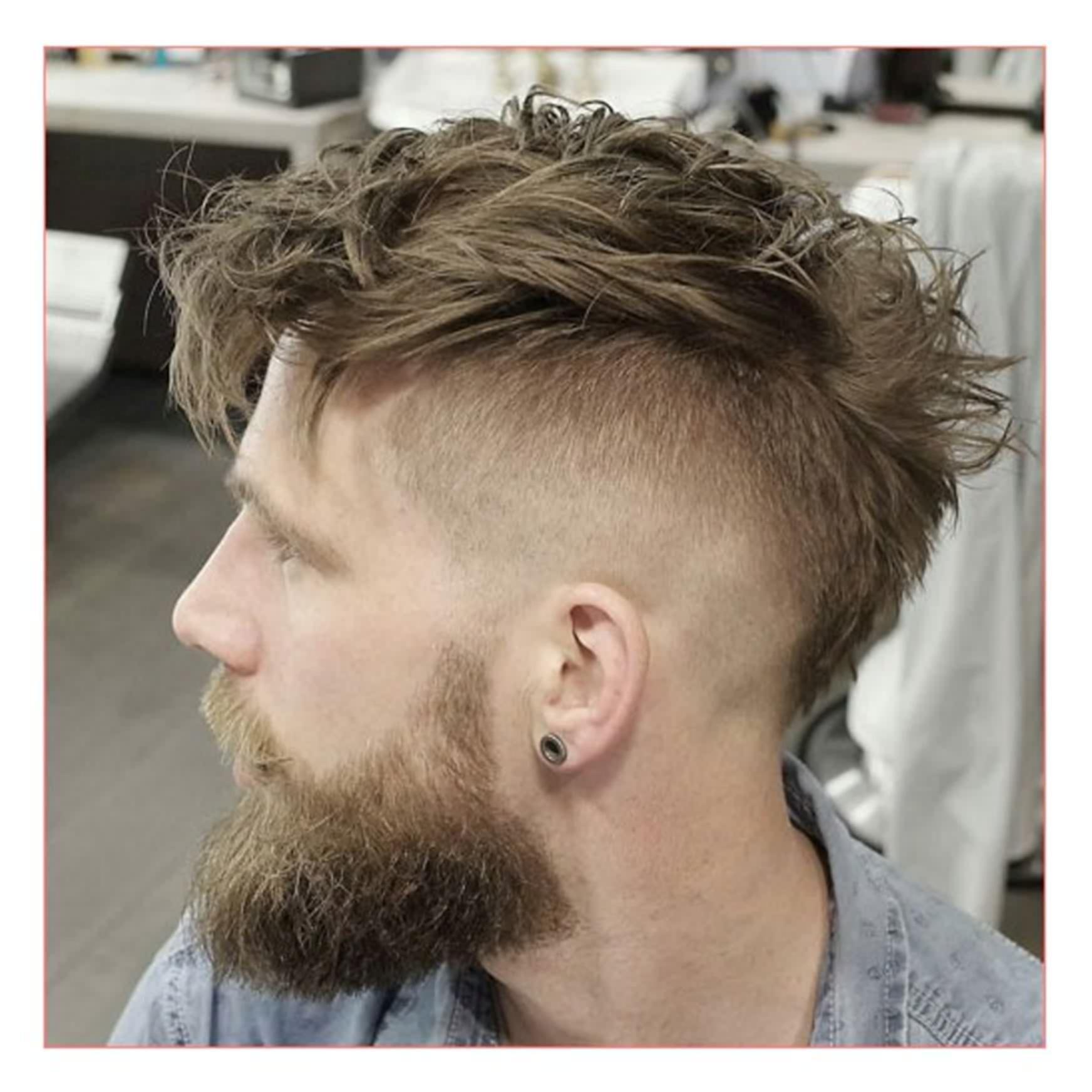 Long Hairstyles For Men Short Sides Men Hairstyles Short Sides Long Top Plus Undercut With Messy Faux Hawk And Muzhskie Pricheski Pricheska Muzhchiny Strizhki Parnej