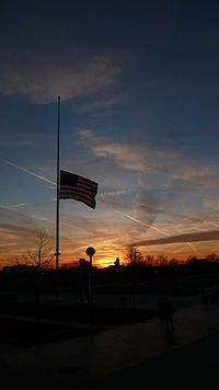 Half Mast Half Mast United States Marine Corps Nebraska
