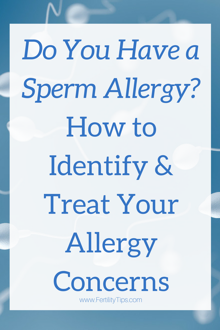 Pity, that are there symptoms of a sperm allergy