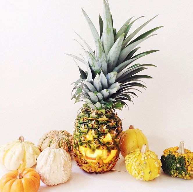 DIY Ananas Jack o Laterne #planetblue Holzbearbeitung Pinterest