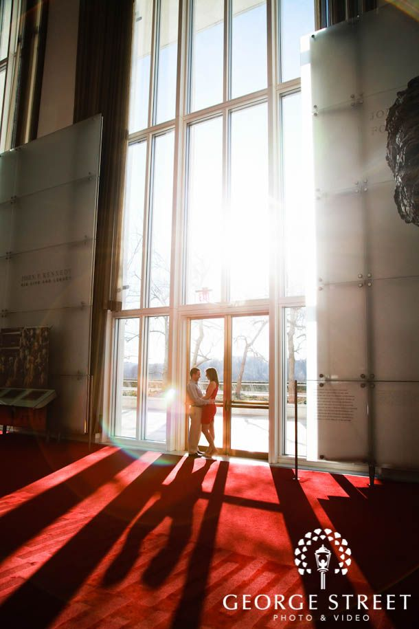 Floor To Ceiling Windows At The Kennedy Center Offer Incredible Lighting