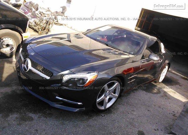 2014 Mercedes Benz Sl550 At Onlineauction Vin Wddjk7da7ef021660
