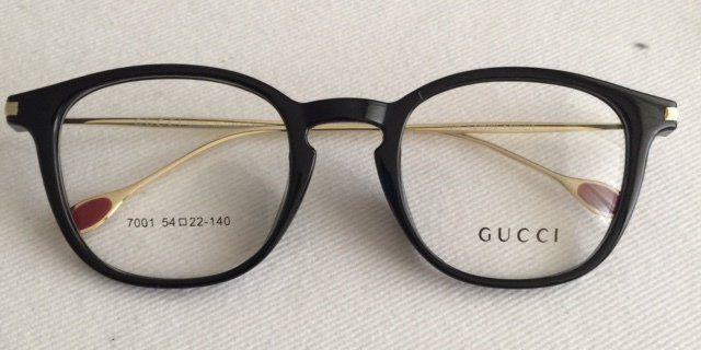 b4850cde9bca7 Óculos Armação de Grau Gg Inspired preto   Eyeglasses
