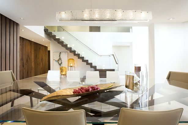 Contemporary twilight dkor interiors inc archinect residential interior design modern also eating  drinking spaces rh ar pinterest
