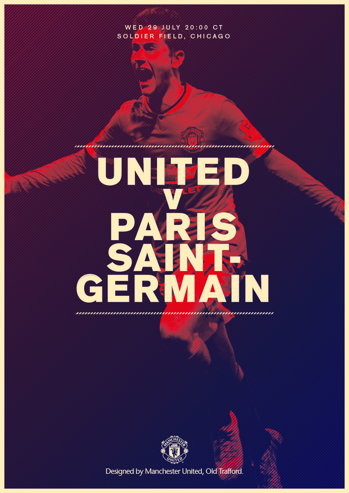Manchester United On Twitter Sport Poster Design Sports Graphic Design Soccer Poster