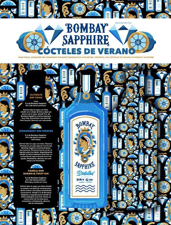 Bombay Sapphire on Behance
