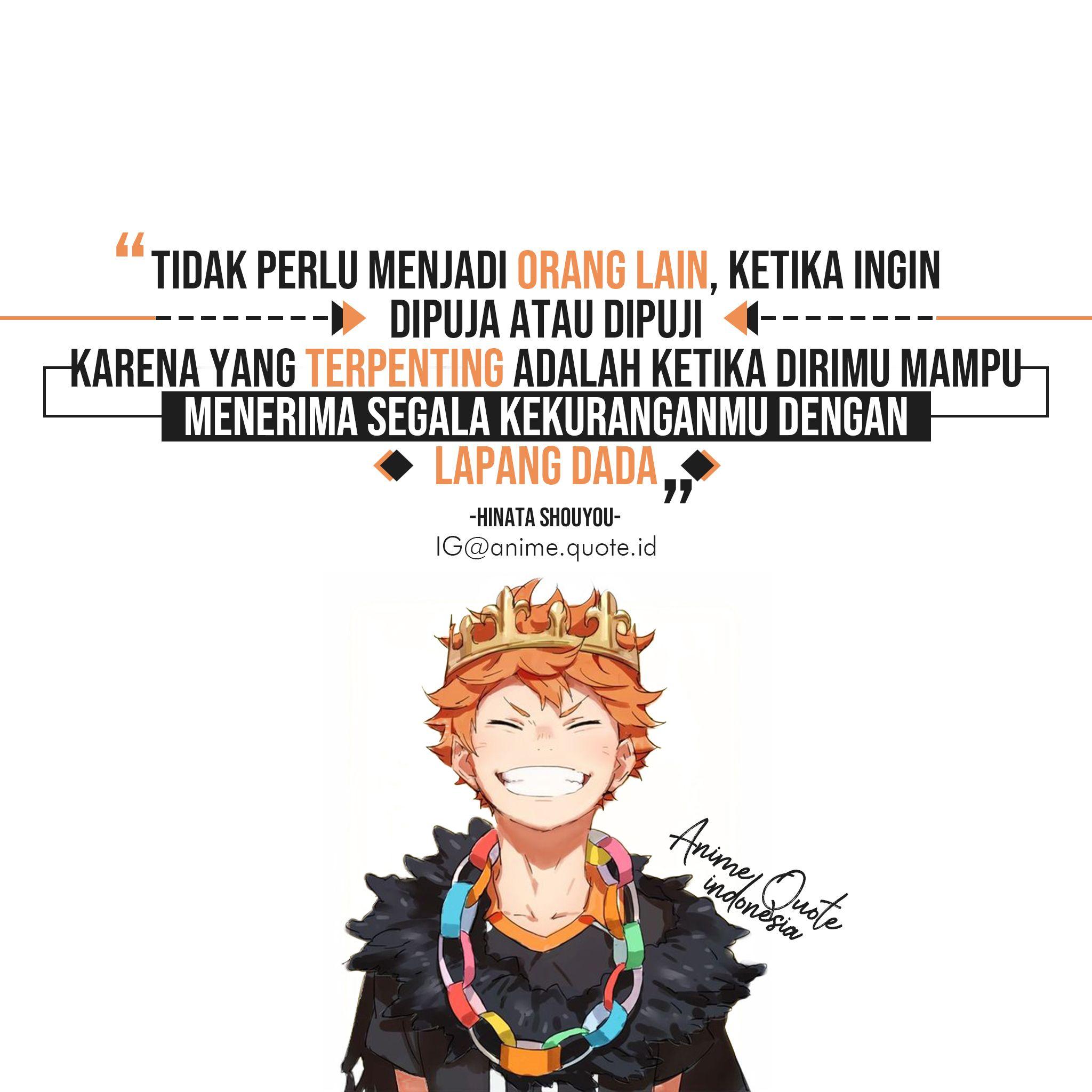 Anime Quote Indonesia Kata Kata Motivasi Motivasi Kata Kata