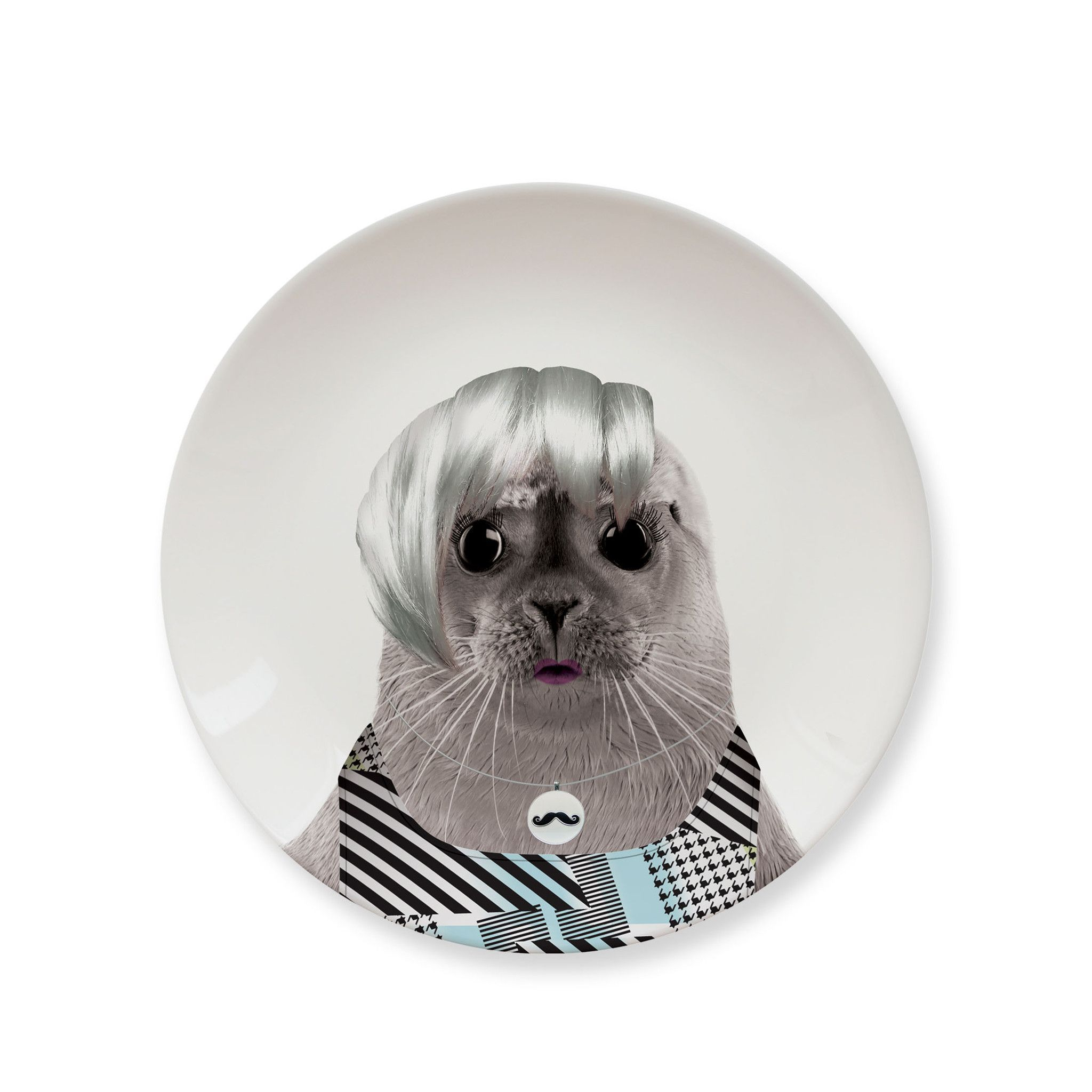 Party Plate Wild Dining Party Animal Baby Seal