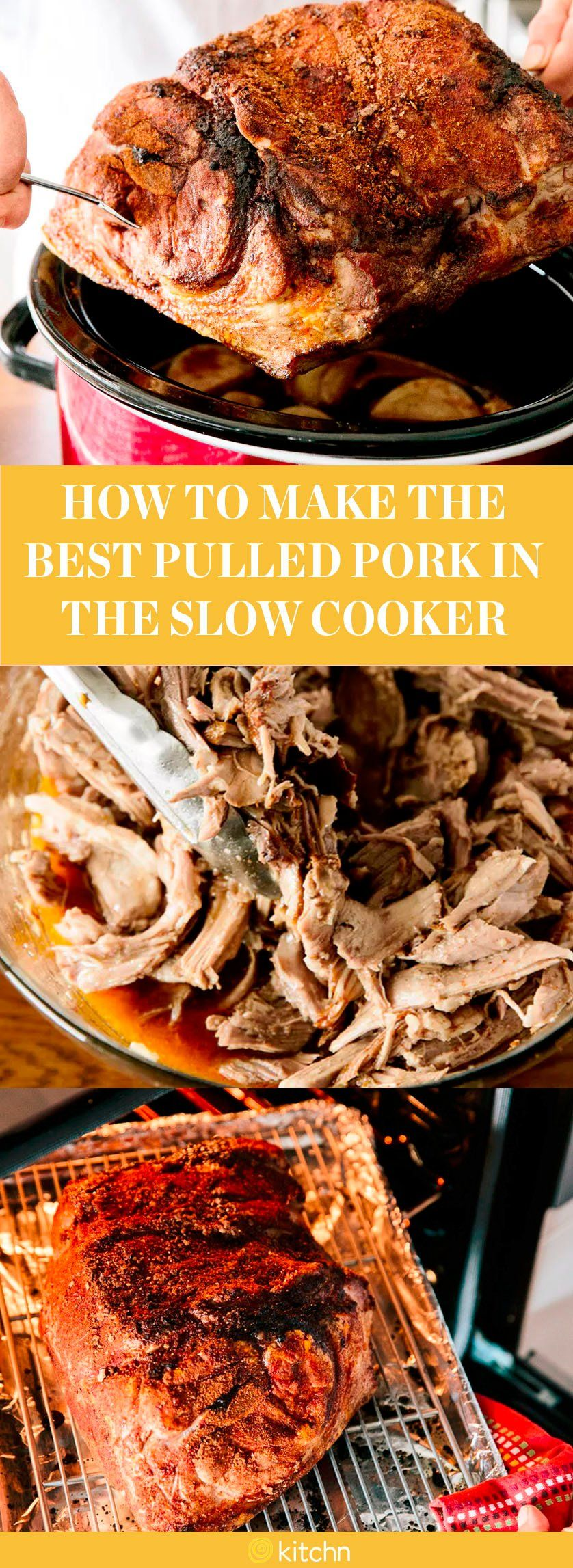 how to make pulled pork in a crockpot