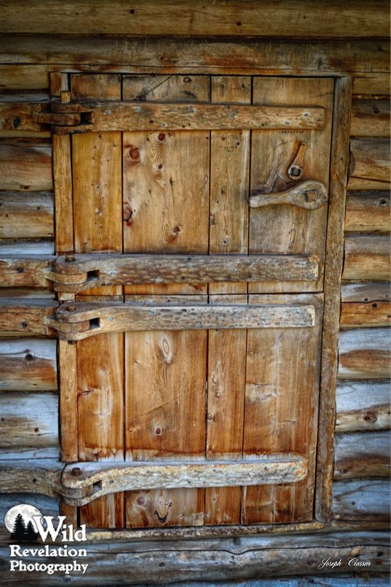 Beau A Close Up Of The Incredible Double Dutch Door And Locking Latch Of The  Dick Proenneke Cabin. Twin Lakes, Alaska. Photography By Joseph Classen.