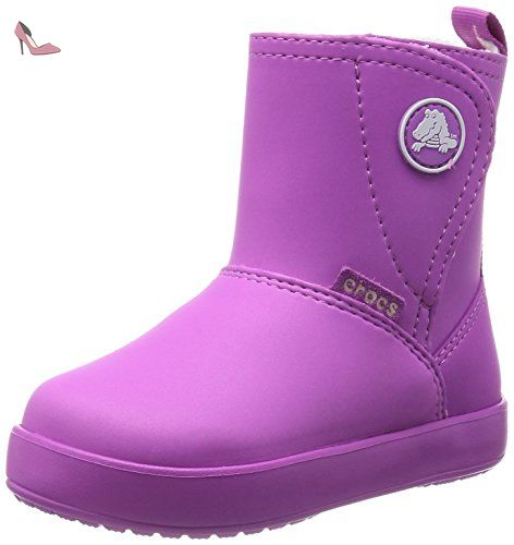 f9beacfea87 CROCS Enfants - Colorlite Boot - wild orchid oatmeal